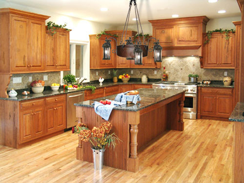 Best ideas about Oak Cabinets Kitchen Ideas . Save or Pin kitchens with honey oak cabinets pictures Now.