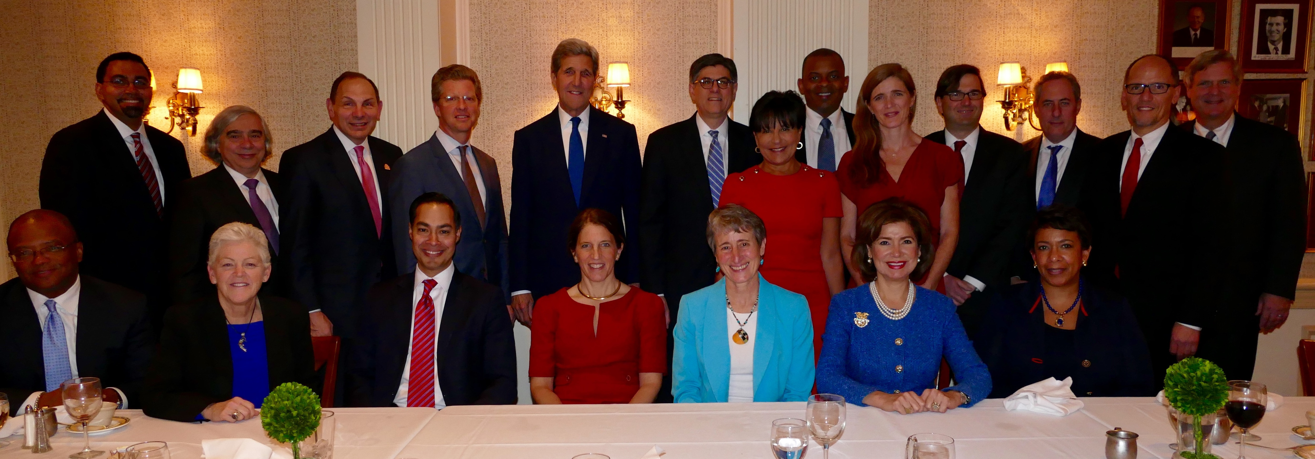 Best ideas about Obama Cabinet Members . Save or Pin Obama's Cabinet has its own pre SOTU tradition A dinner Now.