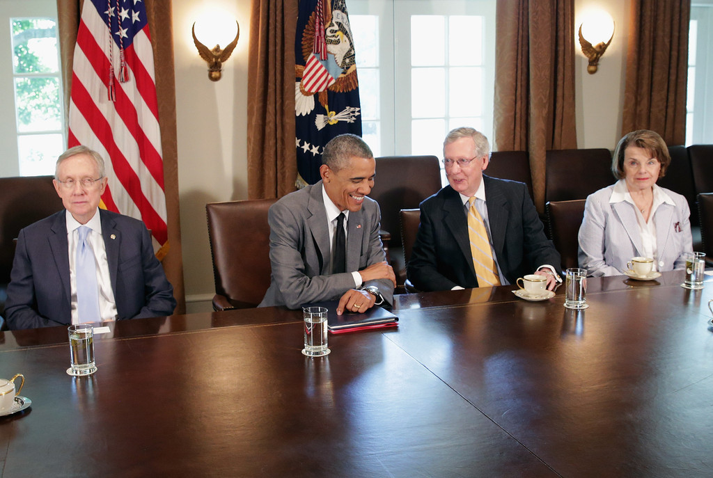 Best ideas about Obama Cabinet Members . Save or Pin Barack Obama Meets with Members of Congress Zimbio Now.