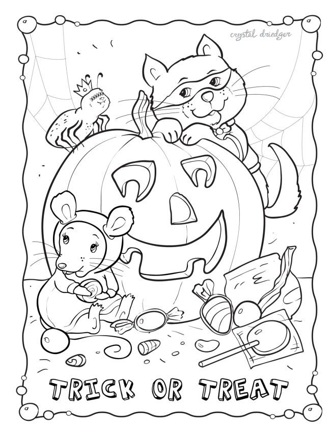 October Coloring Pages For Kids  Old Mother Hubbard Coloring Page AZ Coloring Pages