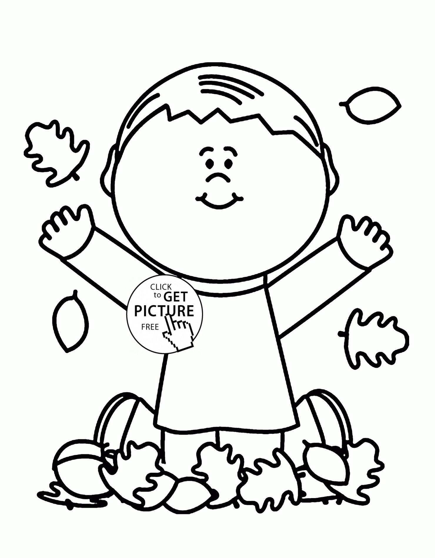October Coloring Pages For Kids  October Coloring Pages Collection Free Coloring Books