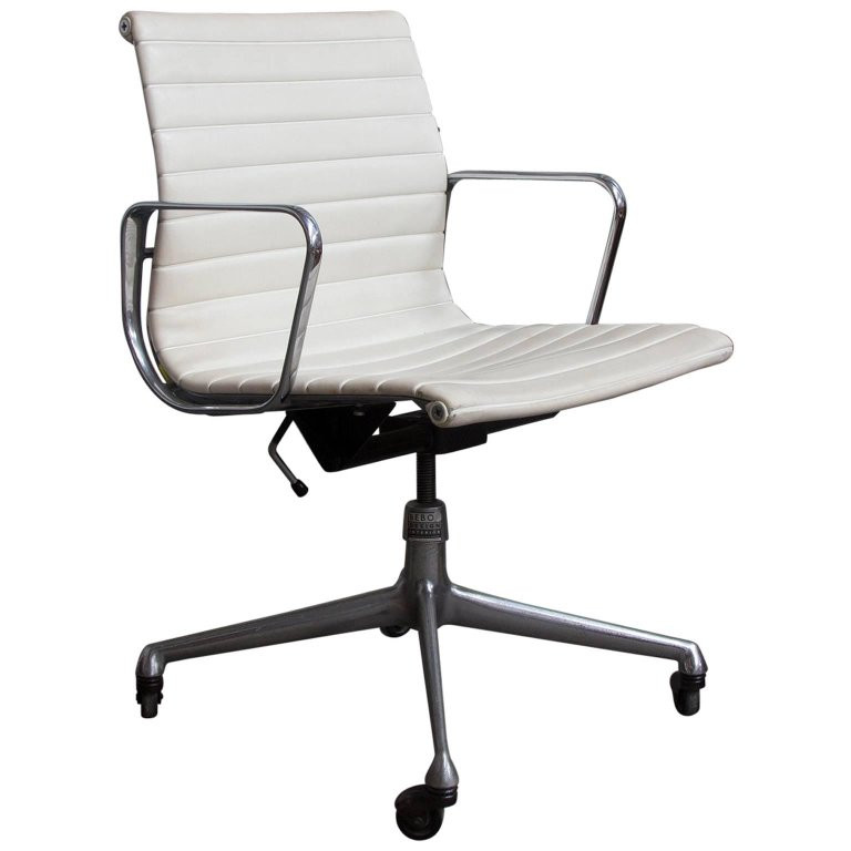 Best ideas about Office Chair Sale . Save or Pin 1958 Ray and Charles Eames White Vinyl Adjust Tilt Now.