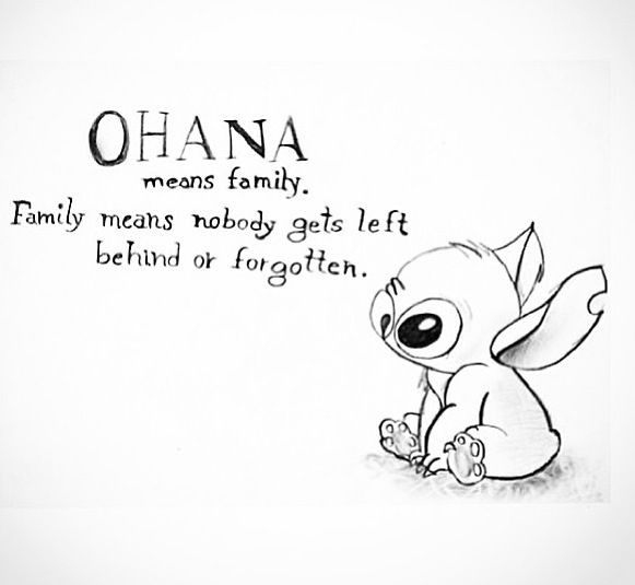 Ohana Coloring Pages  Lilo And Stitch Quotes QuotesGram