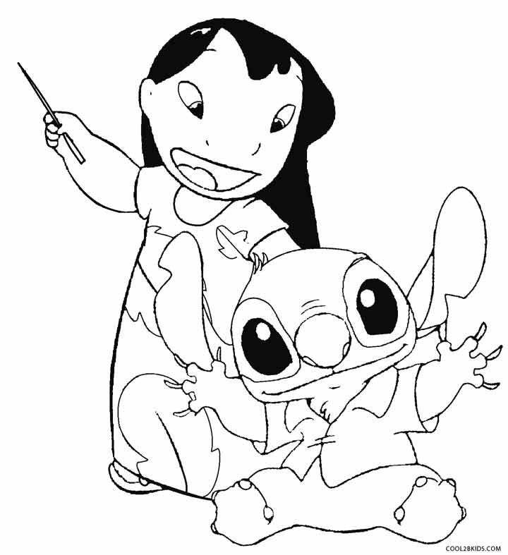 Ohana Coloring Pages  Printable Lilo and Stitch Coloring Pages For Kids
