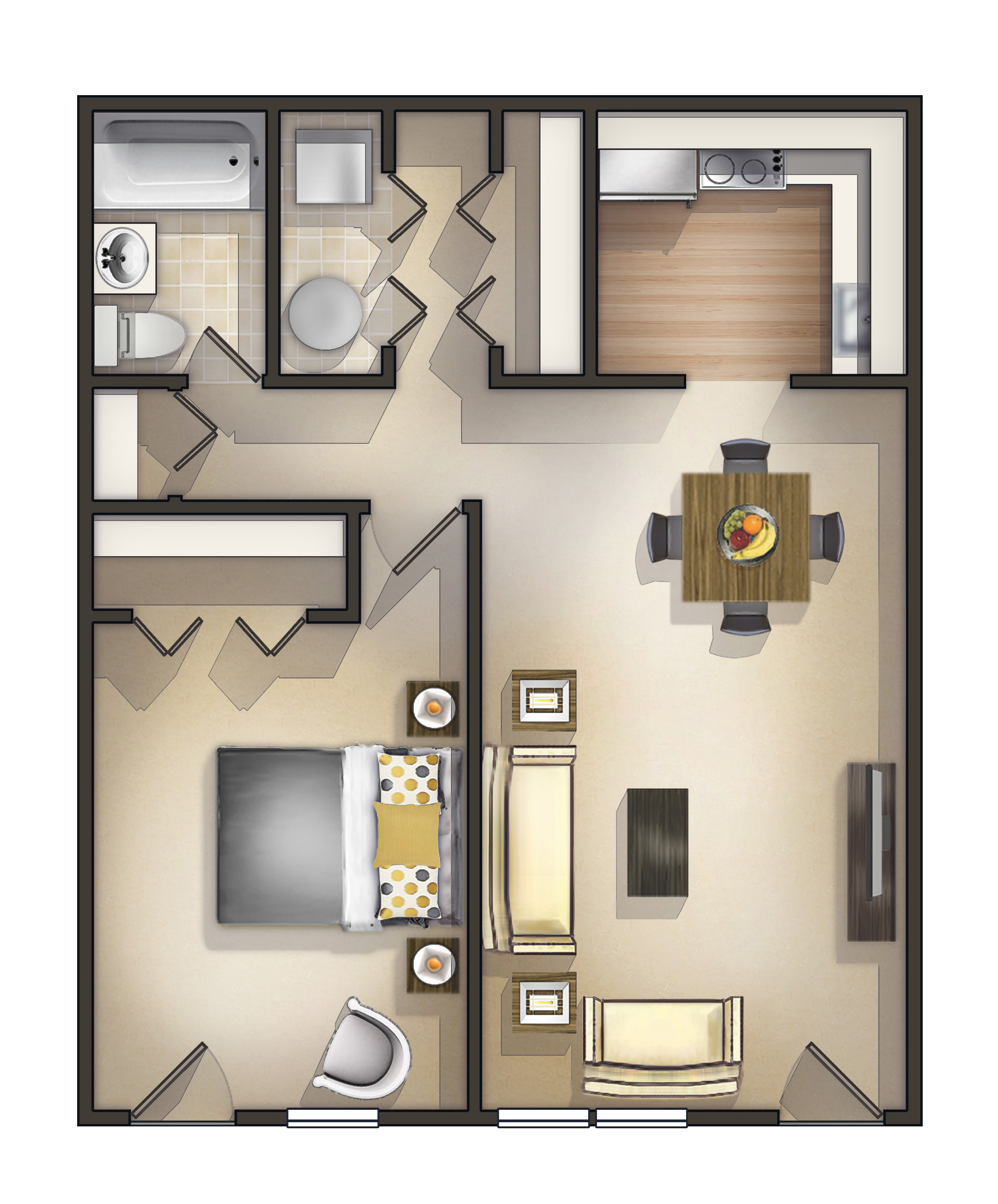 Best ideas about One Bedroom Apartment . Save or Pin e Bedroom Rentals Near Me House For Rent Near Me Now.