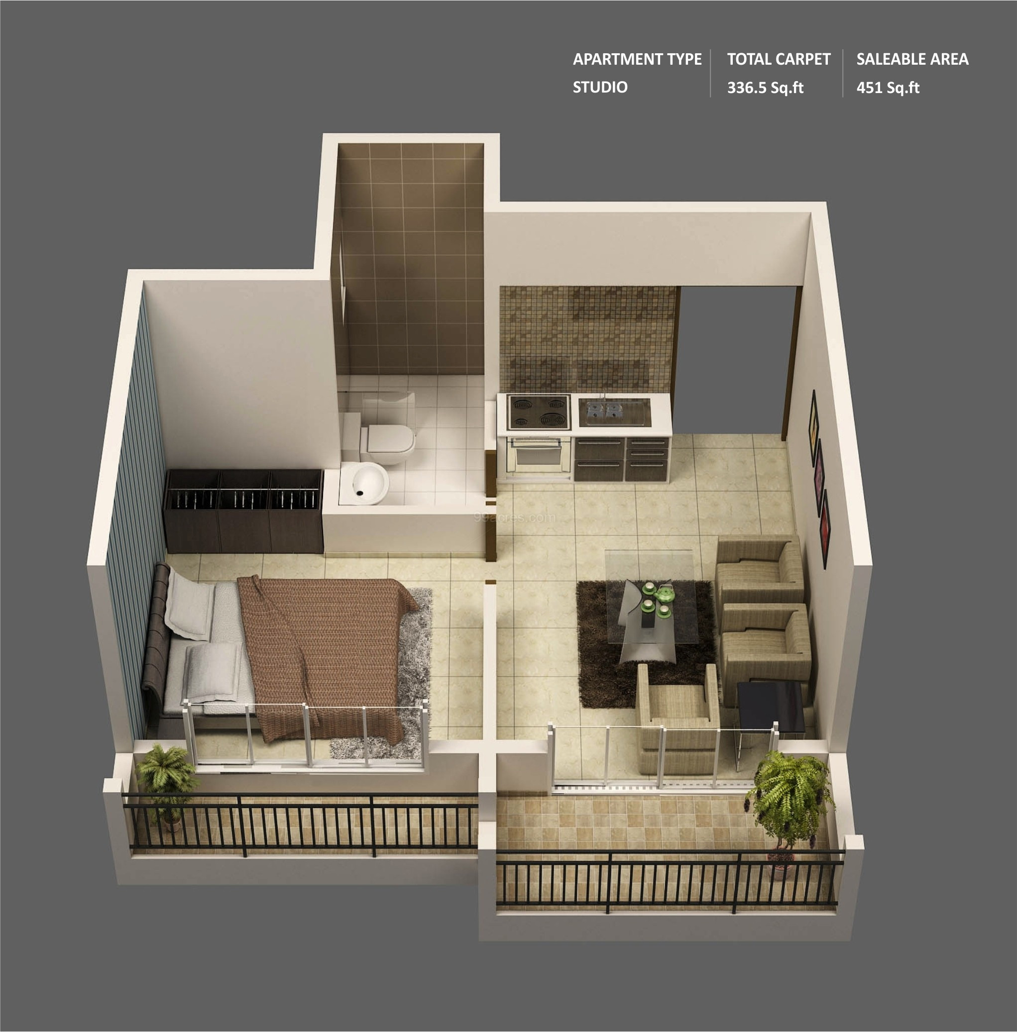 Best ideas about One Bedroom Apartment . Save or Pin 1 Bedroom Apartment House Plans Now.