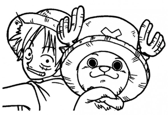 One Piece Coloring Pages  e Piece Coloring Pages Free Printable