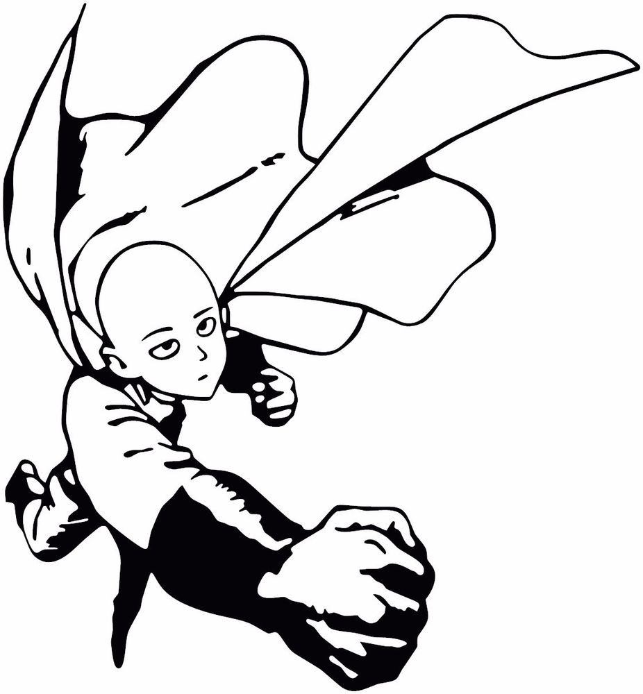 One Punch Man Coloring Pages  Saitama epunch Man Coloring Pages Coloring Pages