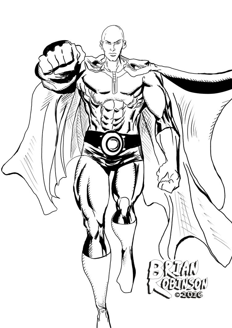 One Punch Man Coloring Pages  Saitama epunchman Coloring Pages Coloring Pages
