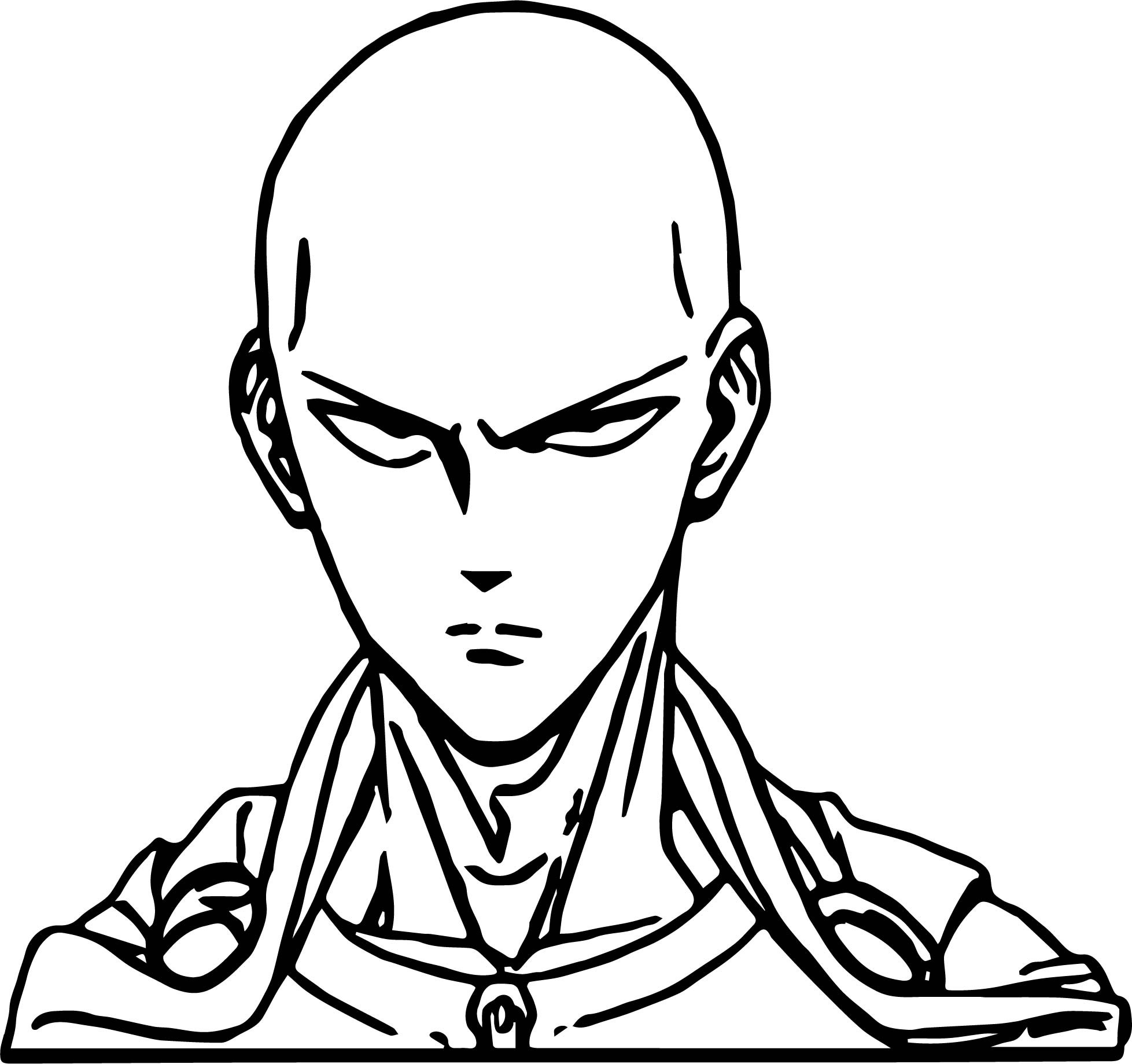 One Punch Man Coloring Pages  e Punch Man Anime Character Design Saitama Coloring Page