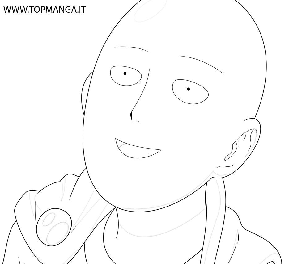 One Punch Man Coloring Pages  Saitama e Punch Man Coloring Pages Coloring Pages