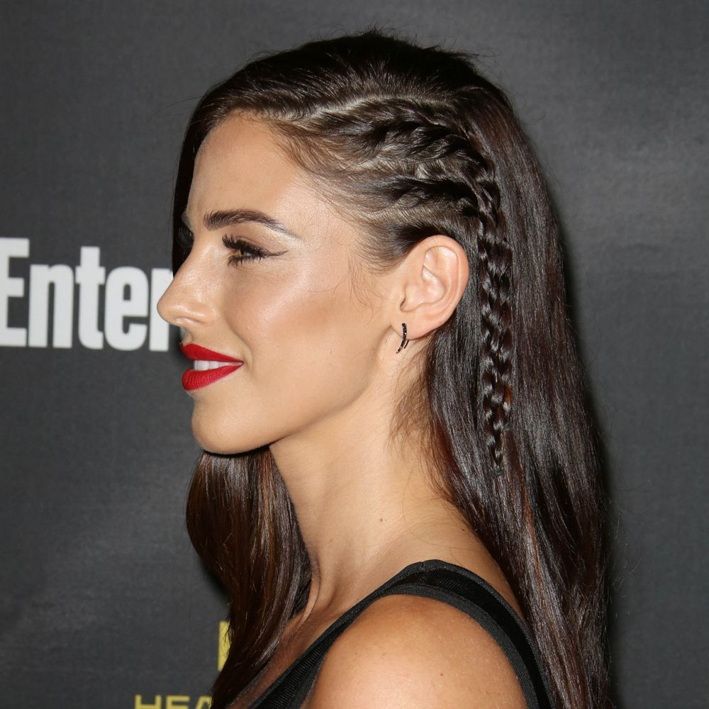 One Side Braid Hairstyles  30 amazing party hair styles and how to recreate them