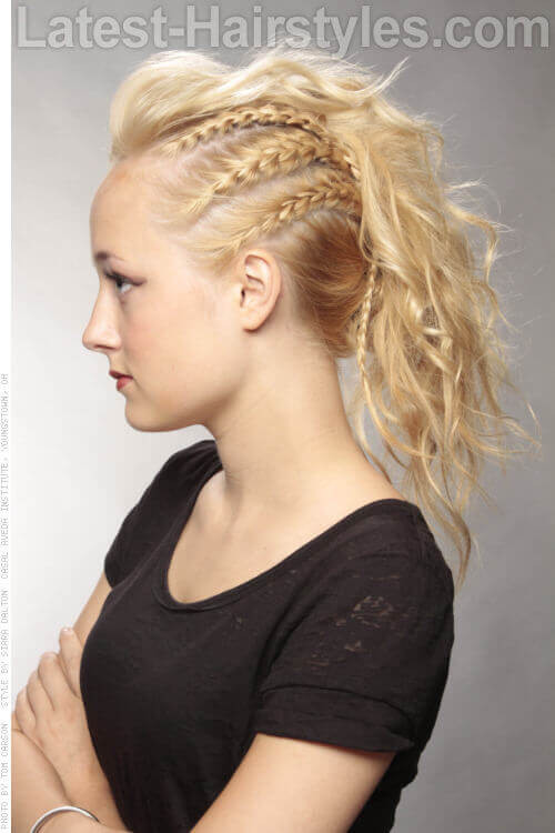 One Side Braid Hairstyles  38 French Braid Hairstyles That Add Flair To Your Look