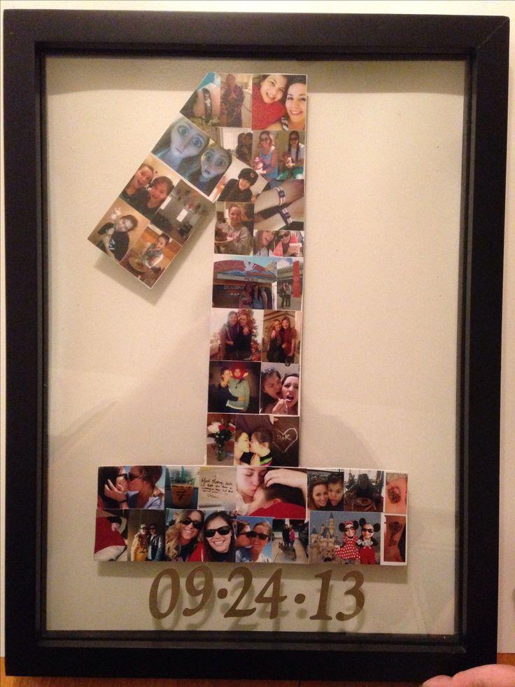 One Year Anniversary Gift Ideas For Boyfriend  25 best ideas about e year anniversary on Pinterest