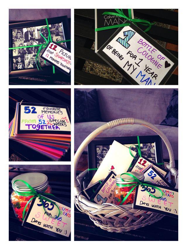 One Year Anniversary Gift Ideas For Boyfriend  e year anniversary t for boyfriend ️
