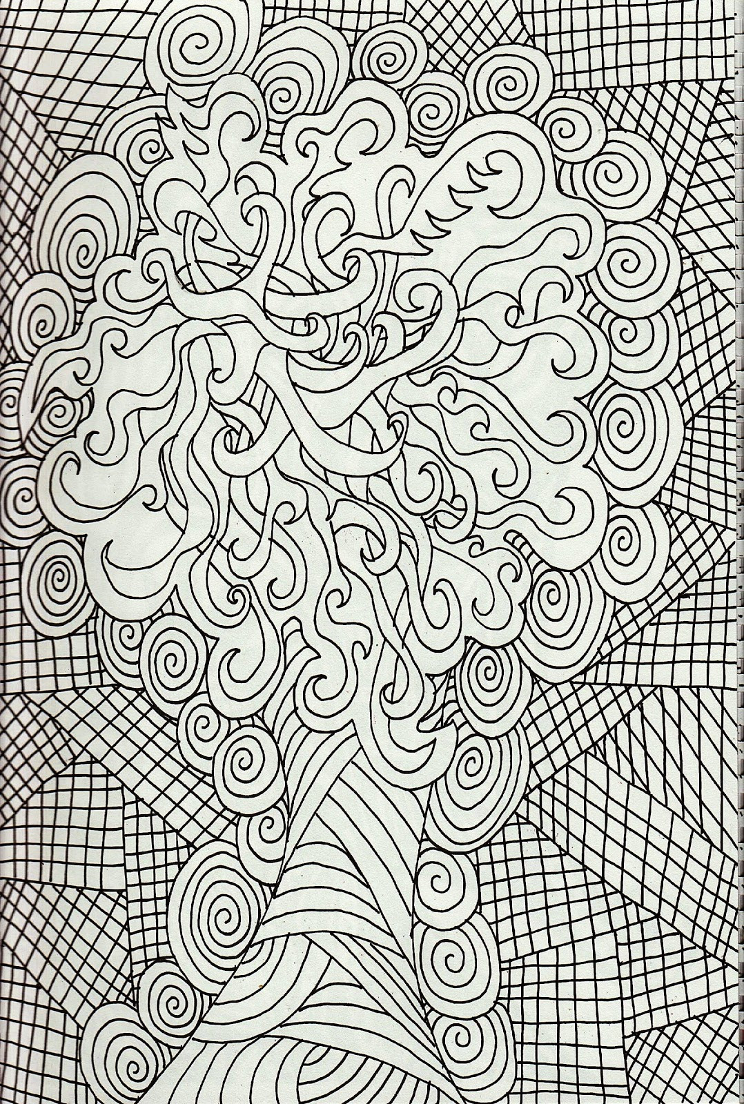 Online Adult Coloring Books  47 Awesome Free line Coloring Pages for Adults