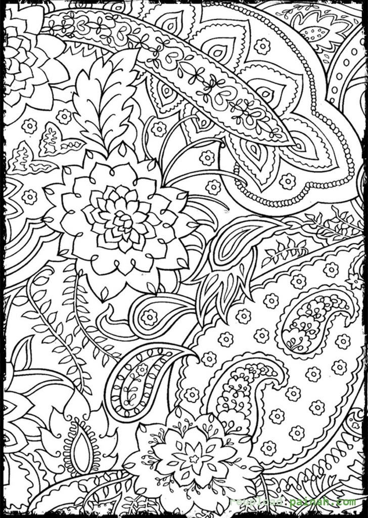 Online Adult Coloring Books  Mosaic Coloring Pages Bestofcoloring