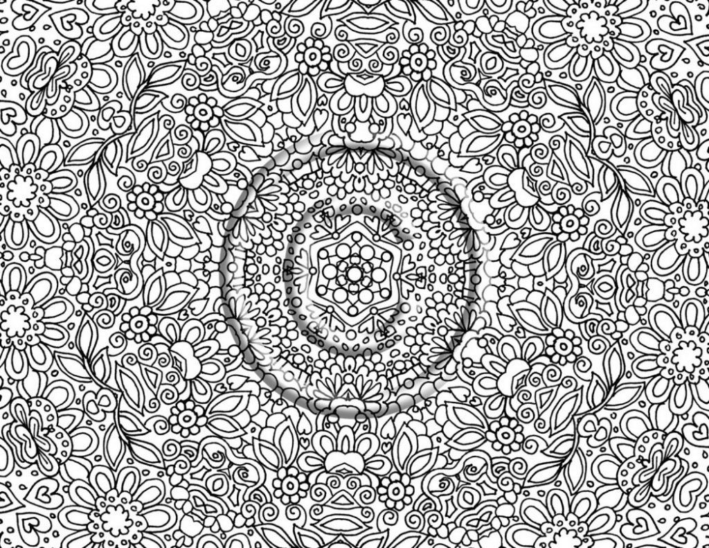 Online Adult Coloring Books  Coloring Pages Very Detailed Coloring Pages For Adults