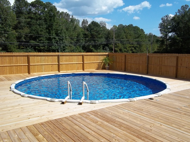 Best ideas about Opening Above Ground Pool . Save or Pin 33 best Ground Pool Designs images on Pinterest Now.
