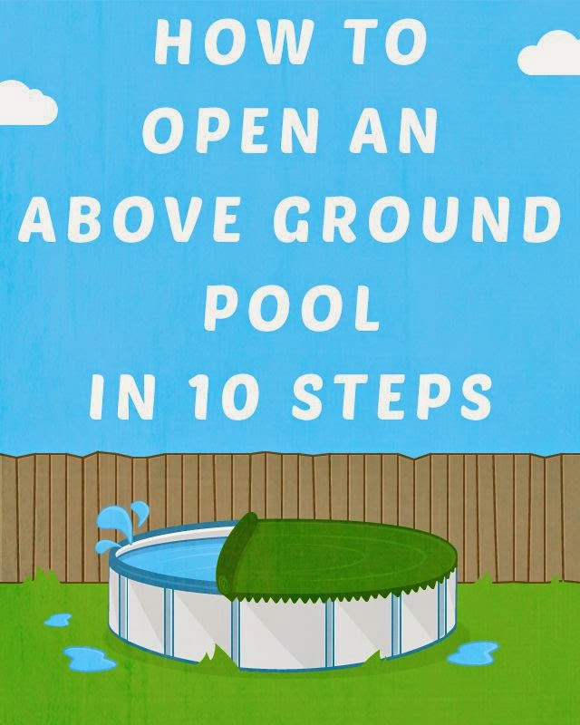 Best ideas about Opening Above Ground Pool . Save or Pin Ground Pools Learning Center Now.