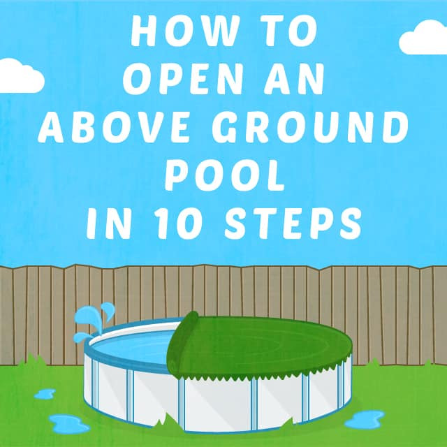 Best ideas about Opening Above Ground Pool . Save or Pin How to Open an Ground Pool in 10 Steps Now.