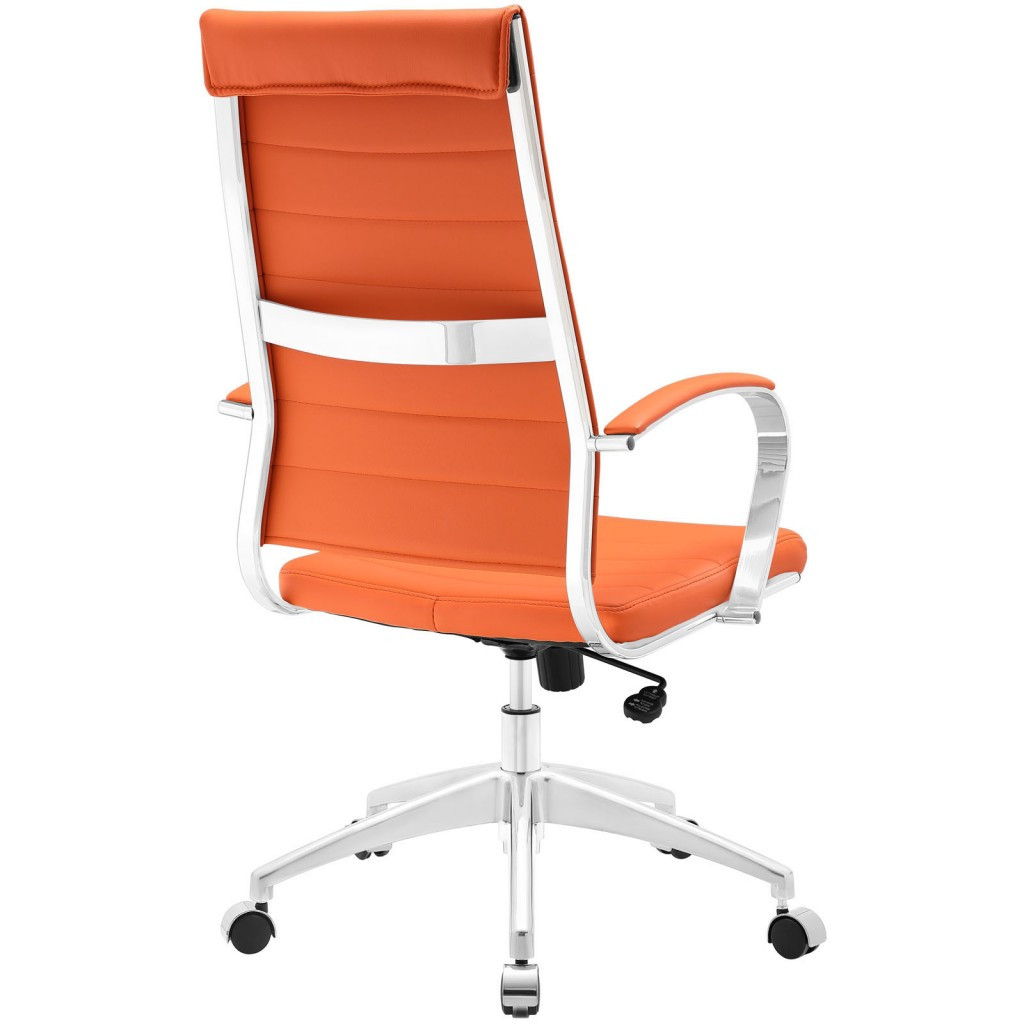Best ideas about Orange Office Chair . Save or Pin Instant Operator High Back fice Chair Now.