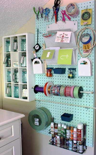 Organization Ideas For Craft Room  Craft Room Organization & Ideas The Inspired Room