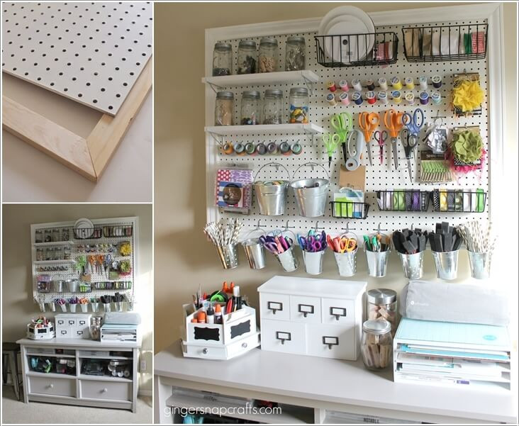 Organization Ideas For Craft Room  13 Clever Craft Room Organization Ideas for DIYers