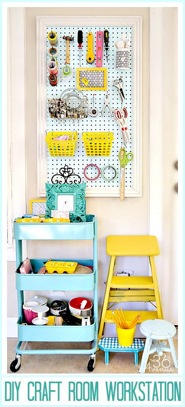 Organization Ideas For Craft Room  20 Craft Room Organization Ideas