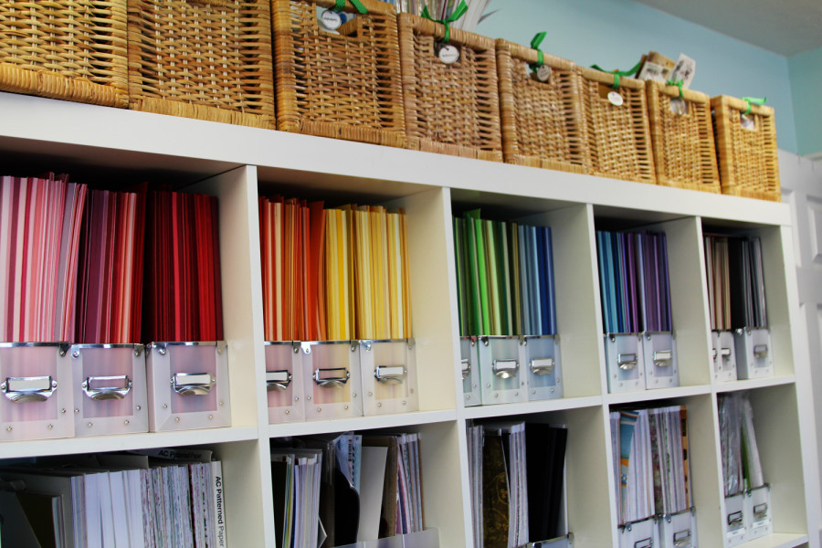 Organization Ideas For Craft Room  Craft Room Organization and Storage Ideas The Idea Room