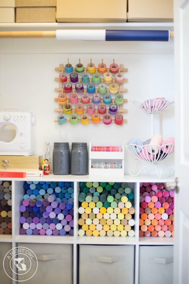 Organization Ideas For Craft Room  Easy Craft Room Organization Ideas