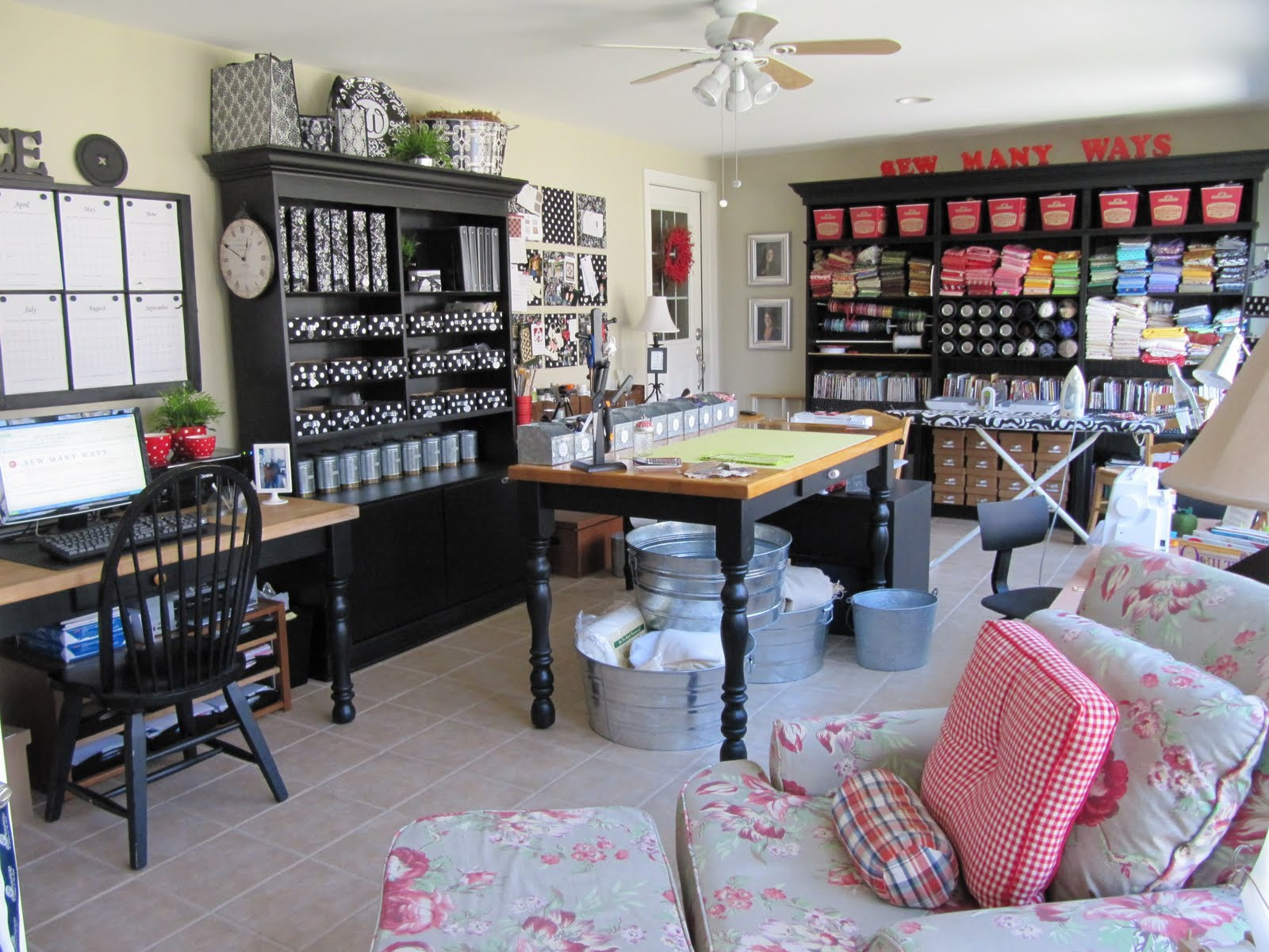 Organization Ideas For Craft Room  Storage and Design Tips for a Craft Room