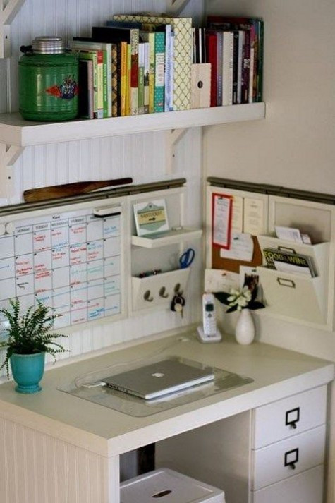 Best ideas about Organizing A Small Office Space . Save or Pin Awesome Home fice Organization Ideas Now.