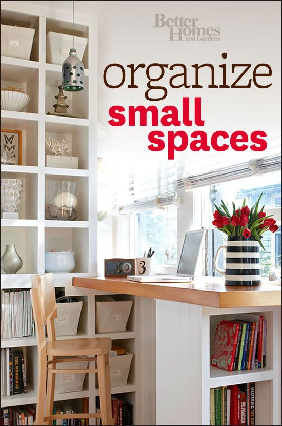 Best ideas about Organizing A Small Office Space . Save or Pin You ll love our helpful small space organization ideas Now.