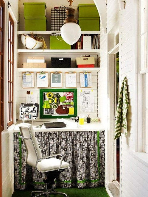 Best ideas about Organizing A Small Office Space . Save or Pin Small Space Home fice The Inspired Room Now.