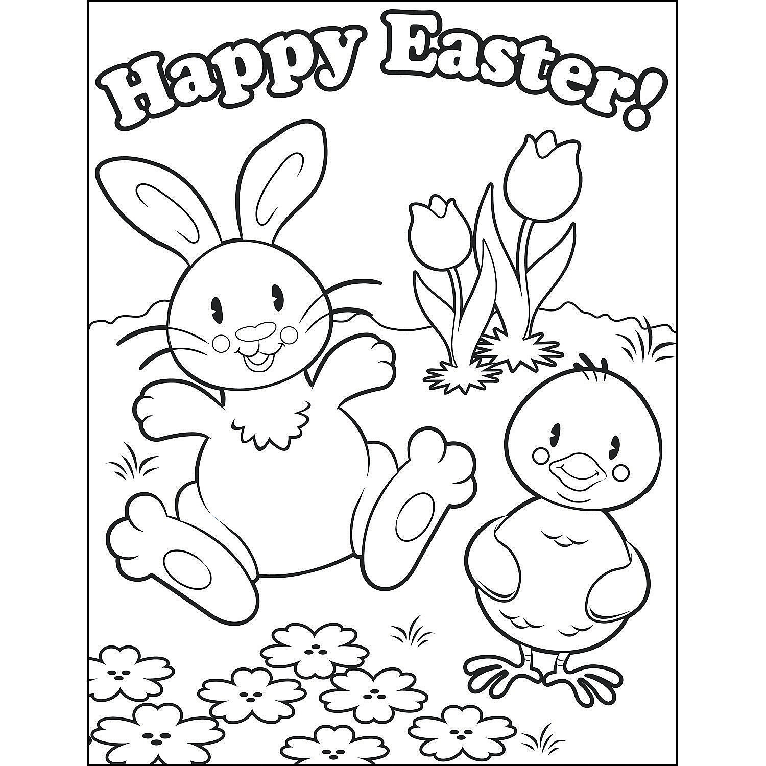 Oriental Trading Coloring Pages  Easter Coloring Contest Sheets Oriental Trading