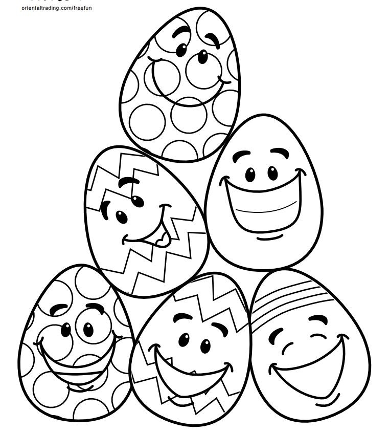 Oriental Trading Coloring Pages  Oriental Trading Coloring Pages Easter – Happy Easter