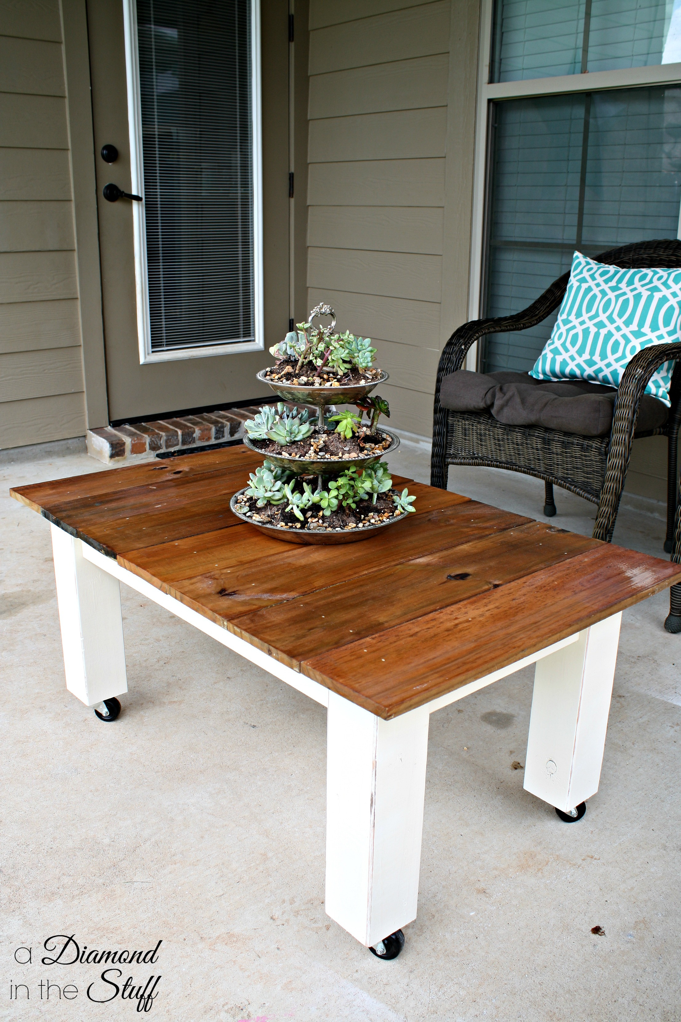 Best ideas about Outdoor Coffee Table . Save or Pin DIY Outdoor Coffee Table Now.