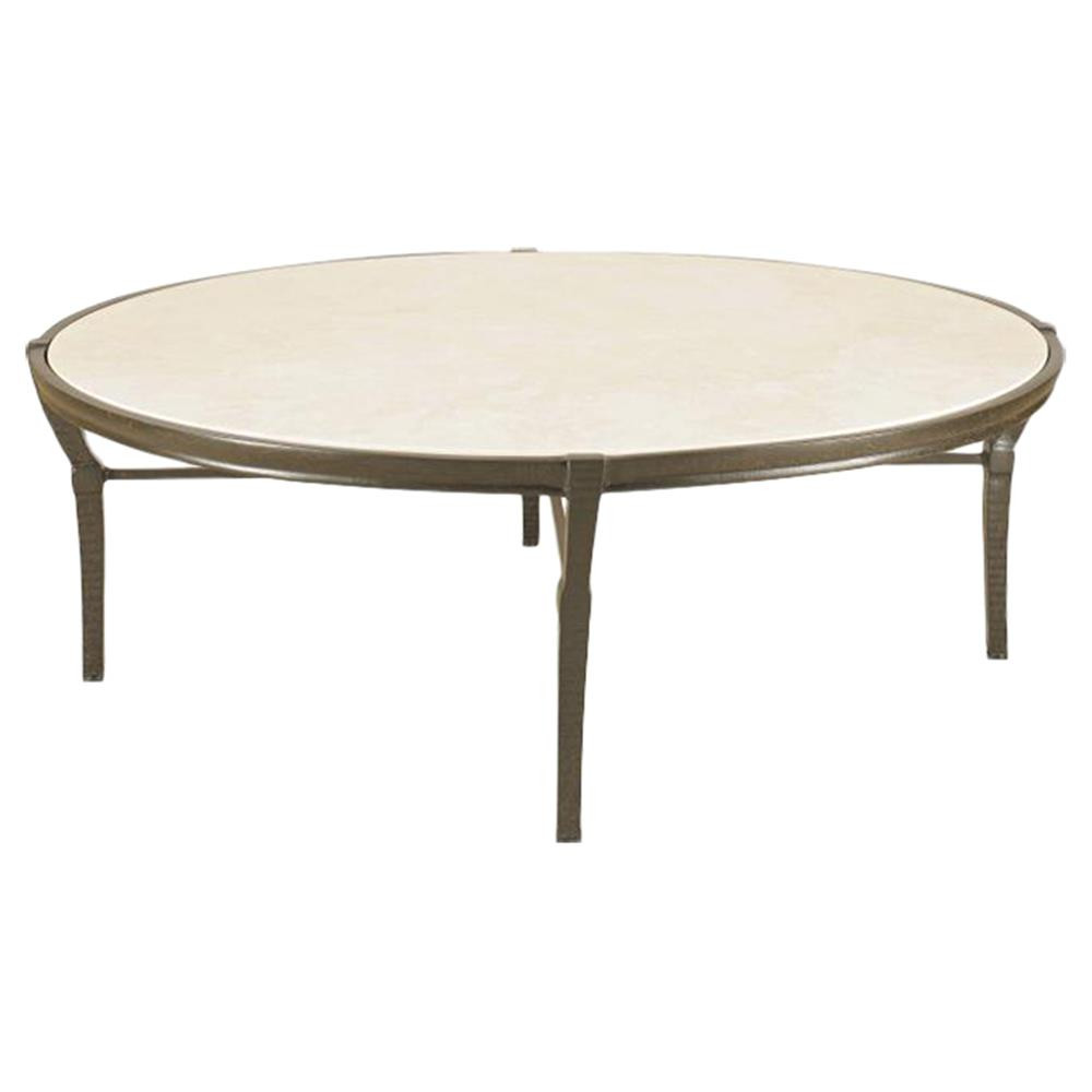Best ideas about Outdoor Coffee Table . Save or Pin Jane Modern French Round Stone Top Metal Outdoor Coffee Table Now.