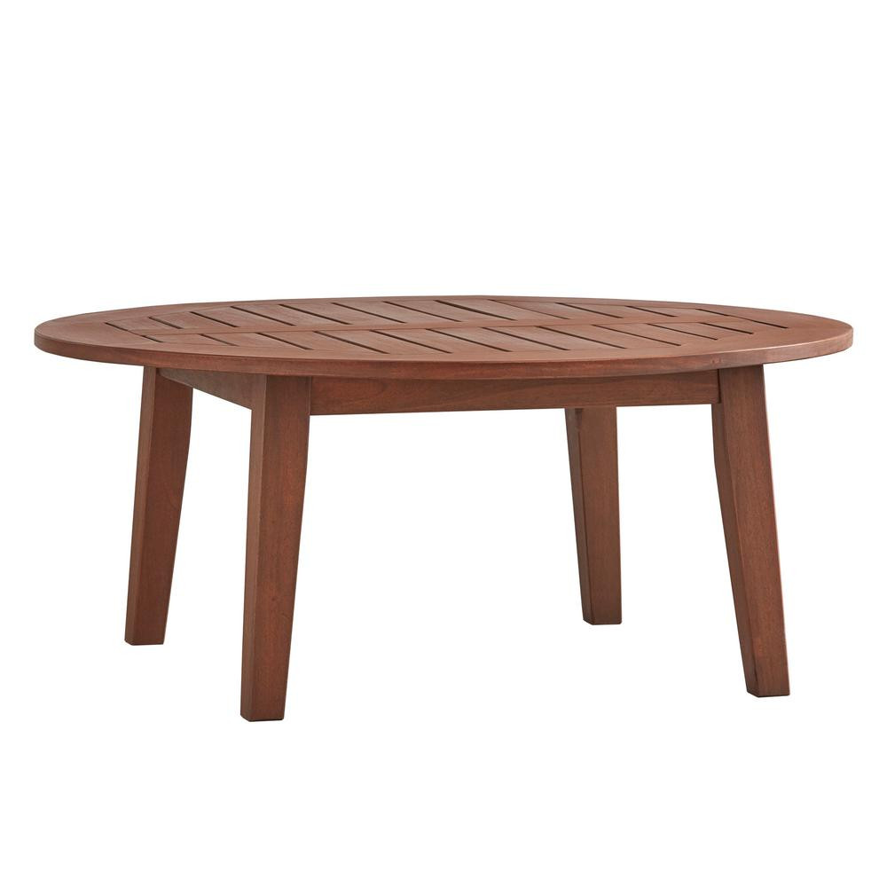 Best ideas about Outdoor Coffee Table . Save or Pin HomeSullivan Verdon Gorge Brown Oiled Wood Outdoor Coffee Now.