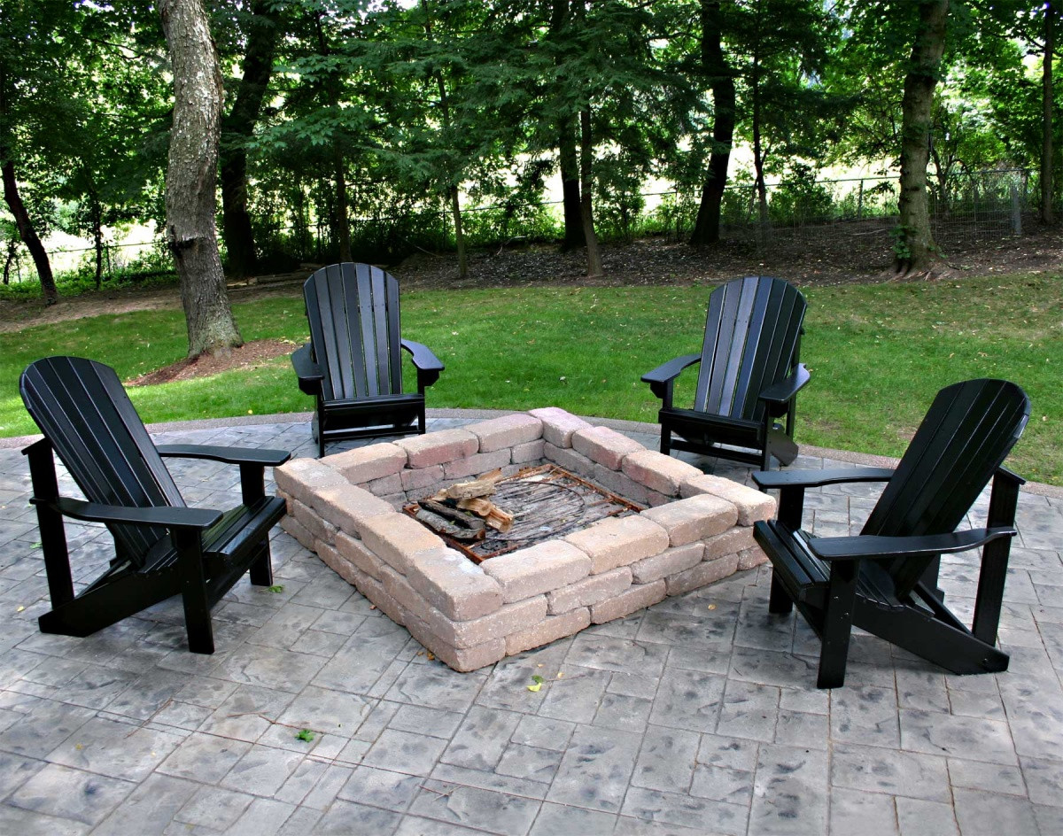 Best ideas about Outdoor Fire Pit Sets . Save or Pin Home Decor Amusing Patio Furniture With Fire Pit Plus Now.