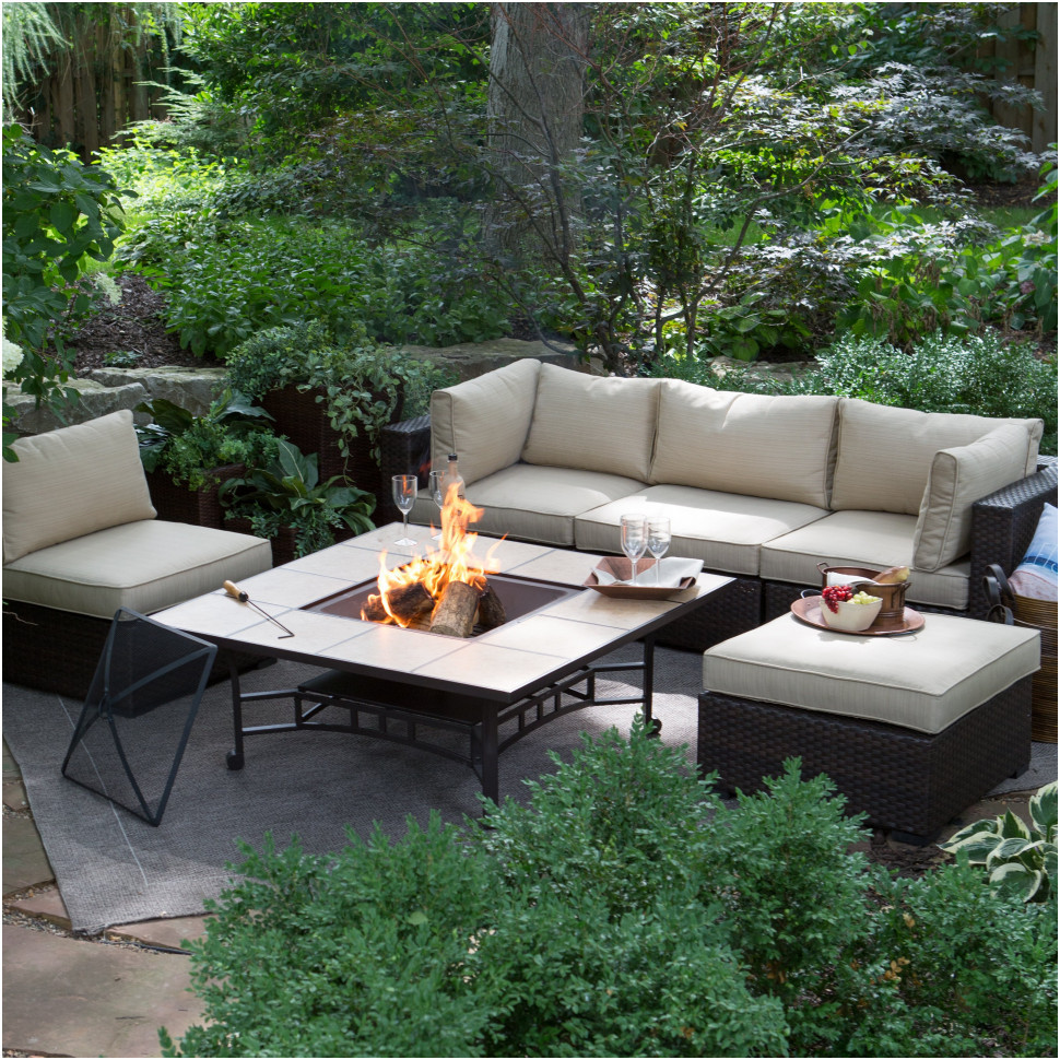 Best ideas about Outdoor Fire Pit Sets . Save or Pin Outdoor Firepits Magnificent Fire Pit Table And Chairs Set Now.