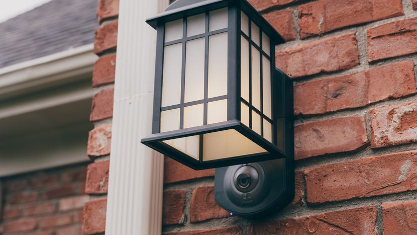 Best ideas about Outdoor Light With Camera . Save or Pin Kuna Light Fixture review This snazzy porch light doubles Now.