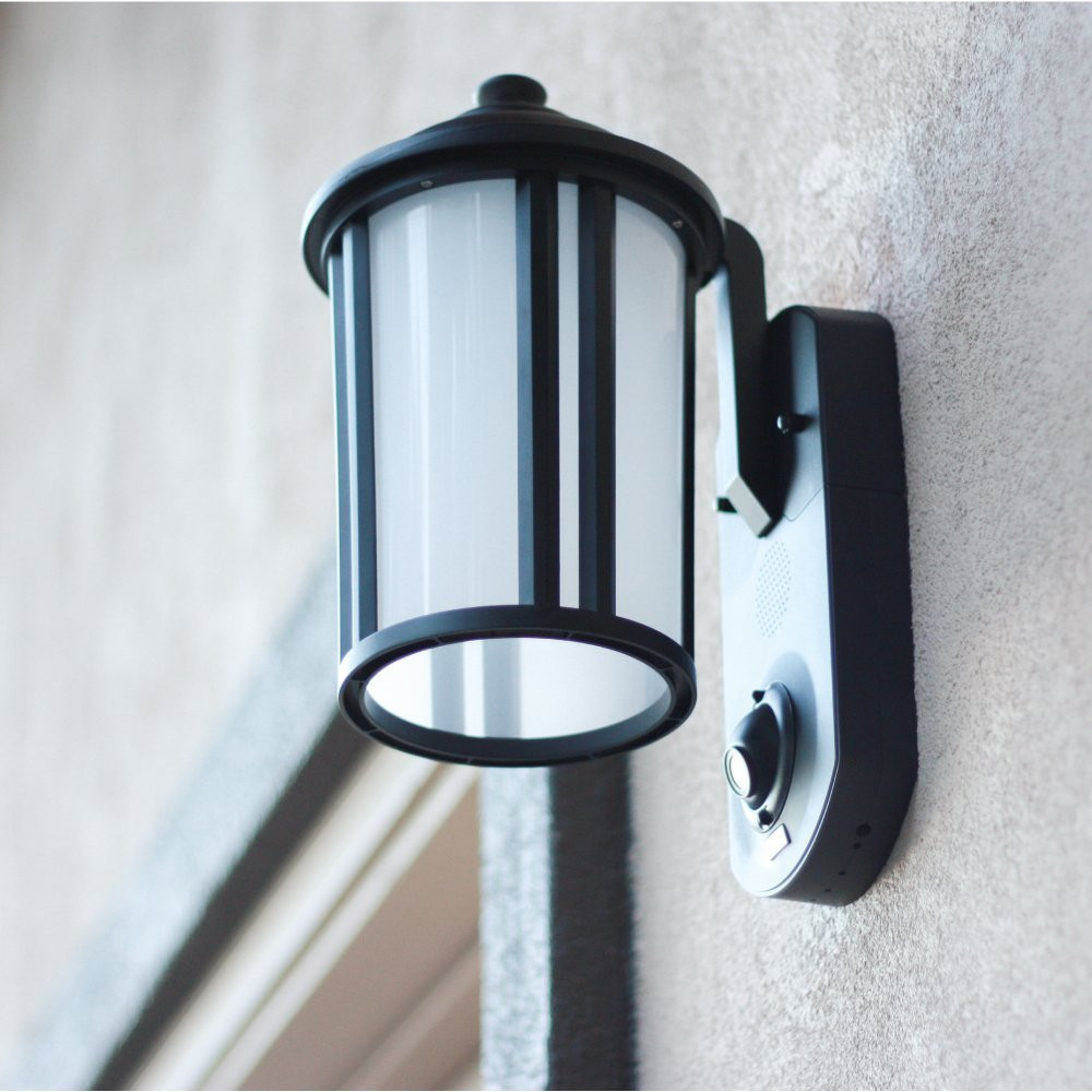 Best ideas about Outdoor Light With Camera . Save or Pin KUNA Smart Home Security Outdoor Light Camera Craftsman Now.