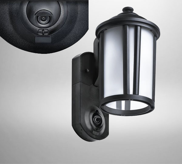 Best ideas about Outdoor Light With Camera . Save or Pin Smart Home Security Outdoor Light & Camera ⋆ Cooltagged Now.