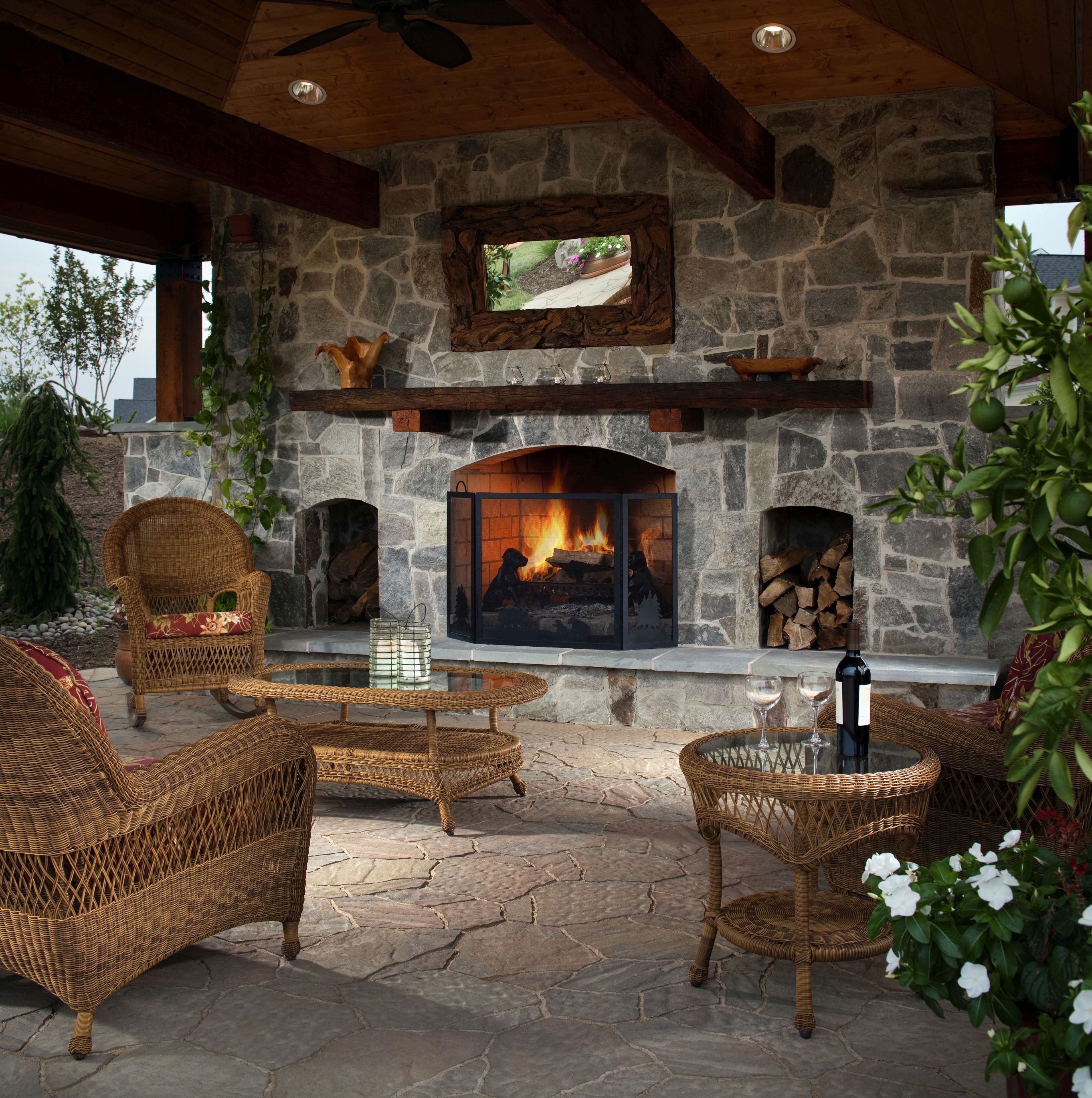 Best ideas about Outdoor Living Room . Save or Pin How to Make Your Backyard Feel Like a Resort Now.