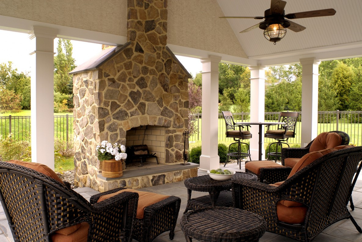 Best ideas about Outdoor Living Room . Save or Pin Outdoor Living Design Tips and Ideas Pool Quest Now.