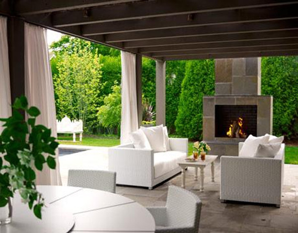 Best ideas about Outdoor Living Room . Save or Pin modern outdoor living Now.