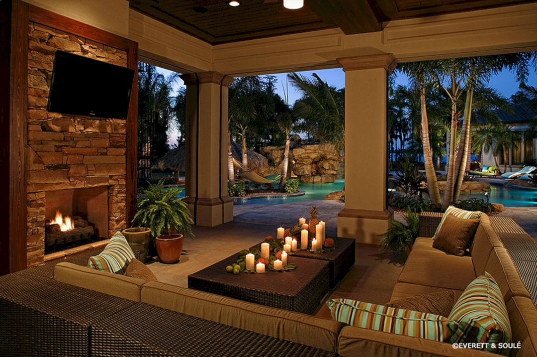 Best ideas about Outdoor Living Room . Save or Pin Living Room With Outdoor Pool Living Room With Outdoor Now.