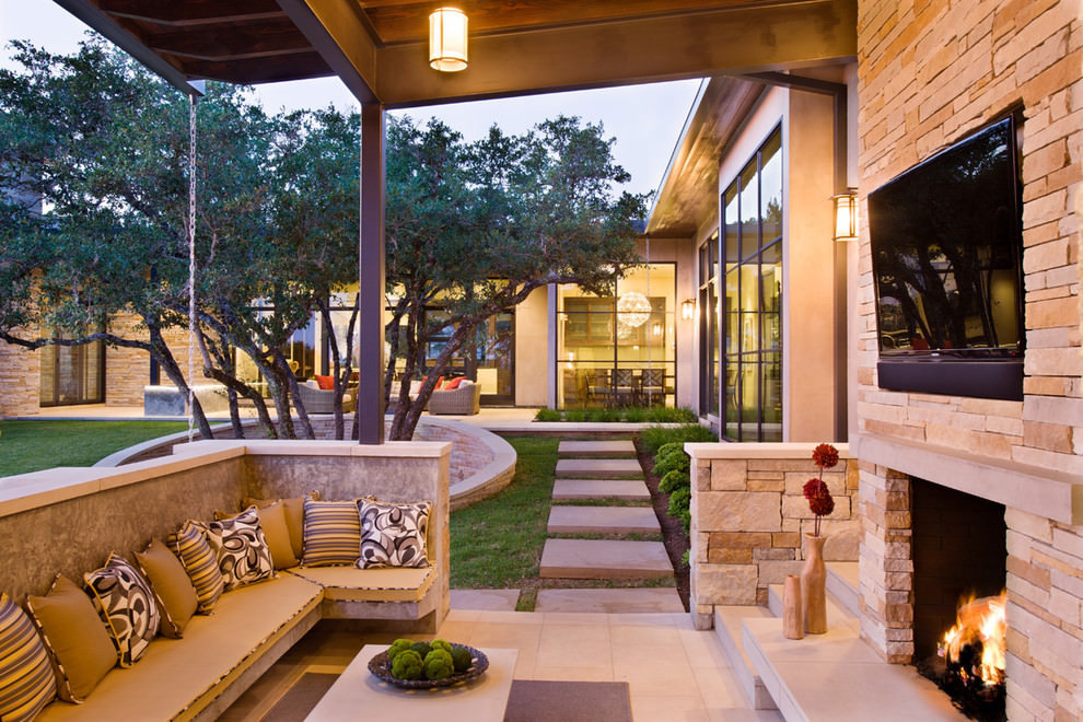 Best ideas about Outdoor Living Room . Save or Pin 20 Outdoor Living Room Designs Decorating Ideas Now.